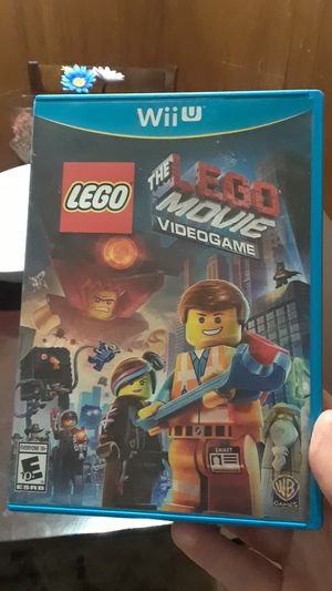 The Lego Movie video game wii u for Sale in Lexington, KY