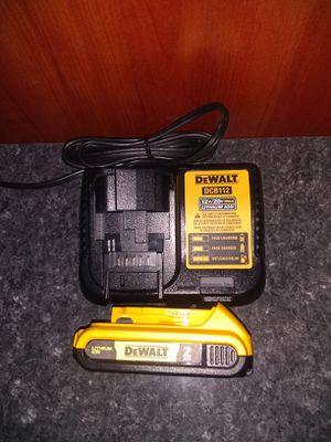 Dewalt 2.0 battery and charger for Sale in Garner, NC