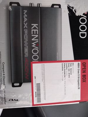 Kenwood amplifier for Sale in Chula Vista, CA