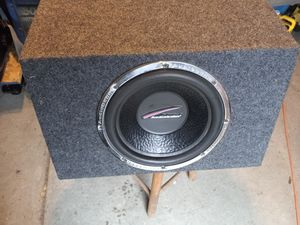 """1 Audobahn 12"""" with 600 California xl amp . for Sale in Columbus, OH"""