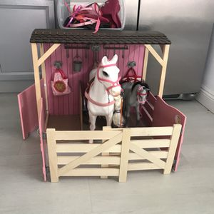 Toy - Our Generation - Horse And Stable for Sale in Garden Grove, CA
