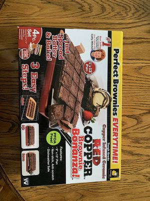 Copper Brownie Pan for Sale in Valrico, FL