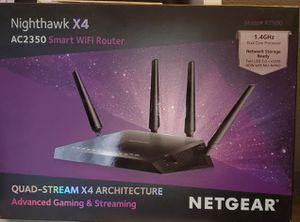 Nighthawk X4 AC2350 Smart WIFI Router for Sale in Las Vegas, NV
