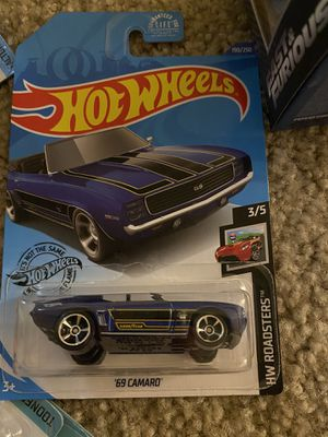 '69 Camaro Hot Wheels HW Roadsters Collection for Sale in Huntington Beach, CA