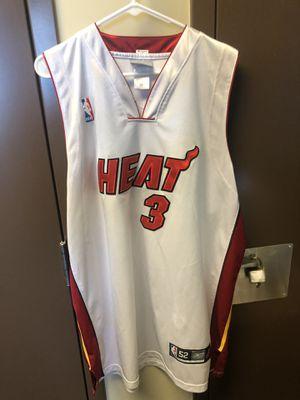 Dwayne Wade sz 52 Miami Heat Basketball Jersey for Sale in Coronado, CA