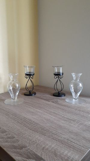 2 Pairs of Candle Holders for Sale in ROWLAND HGHTS, CA