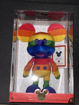 Disney Plush Mickey Mouse - Year of the Mouse June - Pride for Sale in Los Angeles, CA