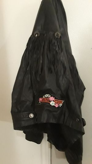Womens leather jacket size XL for Sale in South Whitley, IN