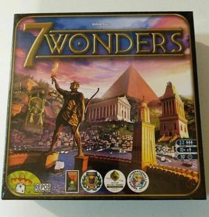 Asmodee Editions Seven01 7 Wonders Board Game for Sale in Levittown, PA