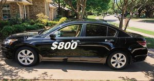 $8OO I'm selling my URGENT 2OO9 Honda Accord CLEAN TITLE!! for Sale in Richmond, VA