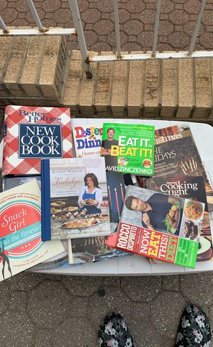 Free cookbooks and books for Sale in Fort Lee, NJ