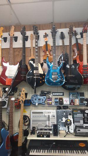 Electric Guitars For Sale for Sale in Visalia, CA