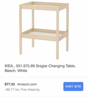 Changing table for Sale in Oceanside, CA