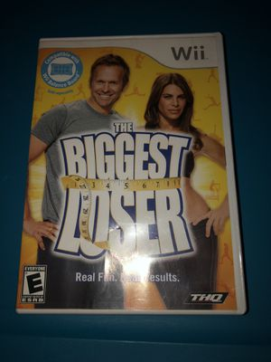 Pre owned biggest loser Wii fit game for Sale in Maynard, MA