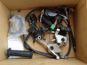 Random Motorcycle Parts Bobber Cruiser Project Honda Kawasaki Yamaha for Sale in Bellflower, CA