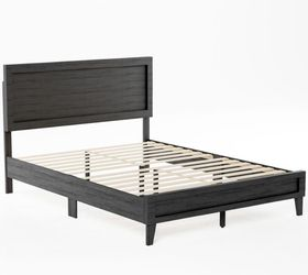 Brookside Leah Classic Wood Platform Bed - Twin - Black for Sale in Dearborn,  MI