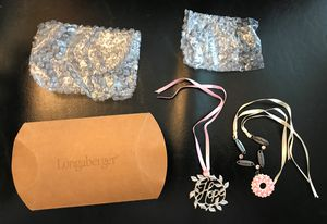 Longaberger Horizons of Hope Tie on Charm Set of 2 Hope Mothers/Daughters/Sisters/Friends NEW! for Sale in Spring Hill, FL