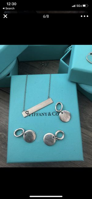 TIFFANY & CO BAR PLATE NECKLACE for Sale in Katy, TX