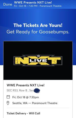 NXT Seattle for Sale in Seattle, WA