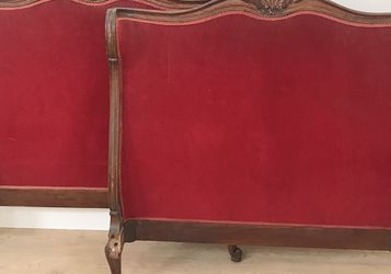 Antique Twin Headboard and Footboard for Sale in San Marcos,  CA