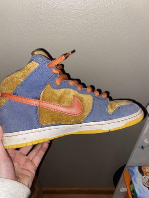 dunk sb supreme bape sneakers read description for Sale in Portland, OR