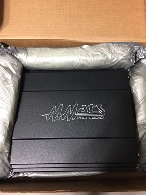 MMATS Pro Audio M2000.1 Class D Brand New for Sale in Bakersfield, CA