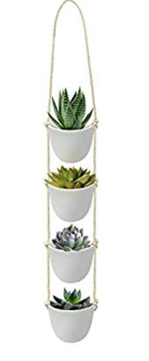 Hanging plant pots modern set of 3 Brand new! for Sale in Los Angeles, CA