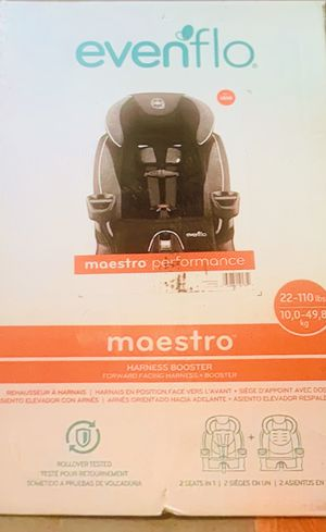 Evenflo maestro booster car seat for Sale in Richmond, VA