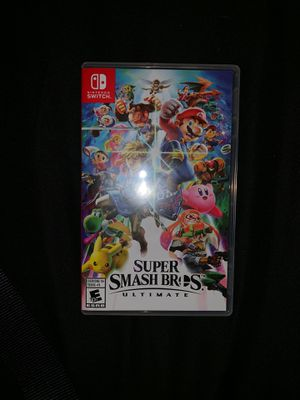 Super Smash Bros Ultimate for Nintendo Switch for Sale in Grand Prairie, TX