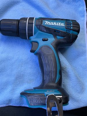 Makita drill only no battery no charger for Sale in Rancho Cucamonga, CA