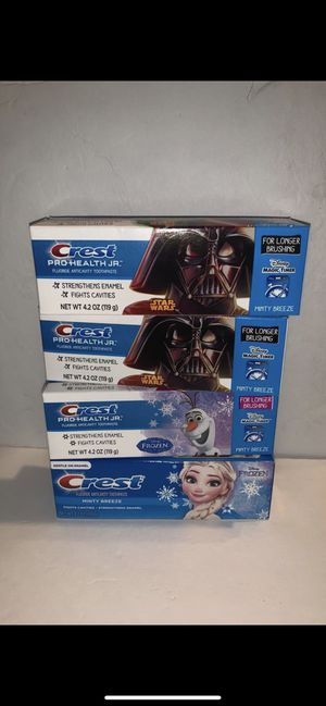 Crest pro health toothpaste kids for Sale in Santa Ana, CA