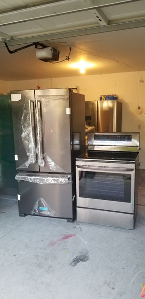 New fridge and stove for Sale in Tampa, FL
