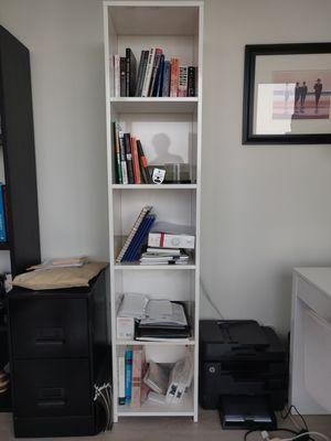 White Lacquer Bookshelf for Sale in Chicago, IL