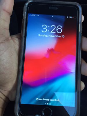 iphone 6 plus EVERYTHING WORKS for Sale in San Diego, CA