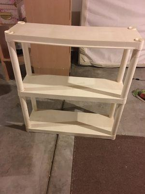 A 3-Shelf Plastic Shelf Unit for Sale in Fountain, CO