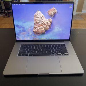 MacBook Pro 16in 512gb 2020 IMMACULATE W/ APPLE CARE for Sale in Colma, CA