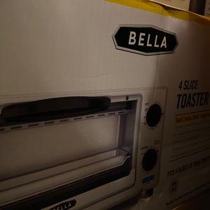 Bella four slice toaster oven for Sale in Alexandria, LA