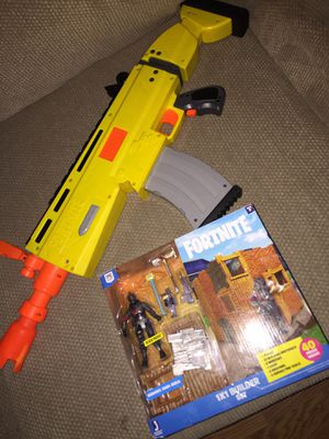 Fortnite Nerf gun and game for Sale in Anaheim, CA
