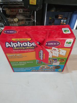 Lift and learn alphabet three in one set for Sale in Las Vegas, NV