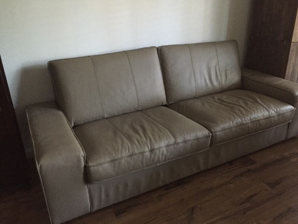 IKEA kivik leather sofa for Sale in Fremont, CA - OfferUp