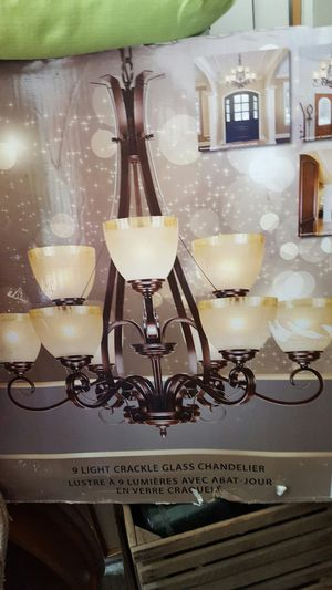 Big chandelier reduced price for Sale in High Point, NC