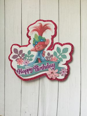 Troll cake toppers and more for Sale in Farmersville, CA