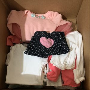Box Of Premie Baby Clothes for Sale in Houston, TX