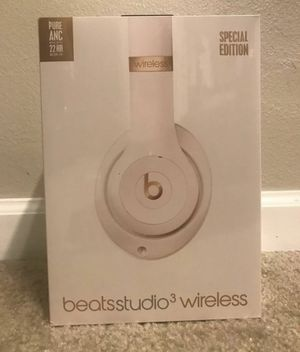 Beats Studio 3 Wireless Headphones Porcelain Rose for Sale in Tracy, CA