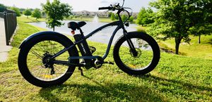 Electric bike: Check out the Tahoe Classic Fat Tire pedal assist electric bicycle designed for comfort and style. $1500 DETAILS: fat tires, 500 watt for Sale in McKinney, TX
