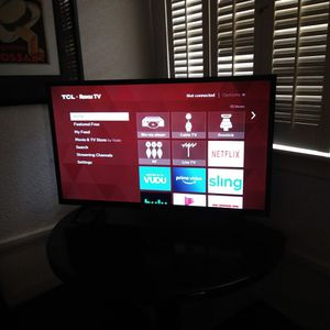 32 In Tcl Roku Tv for Sale in Dallas, TX