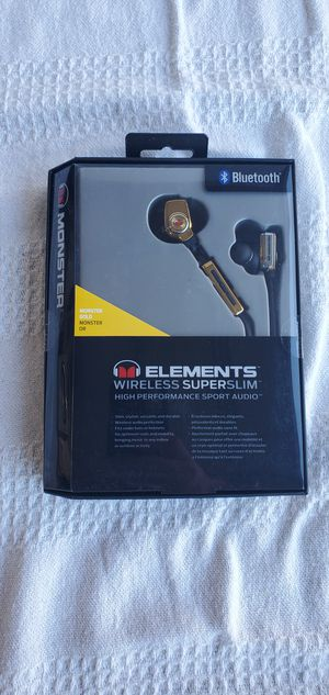 Monster Elements Wireless Earbud Headphones for Sale in San Jose, CA