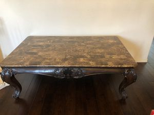 Marble table for Sale in Cross Roads, TX