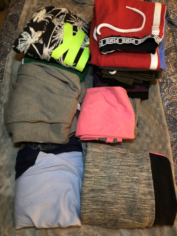 Authentic Pink Clothing (14 pieces)