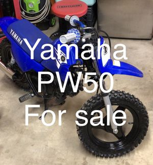 Yamaha pw50 super clean and well maintained for Sale in Phelan, CA